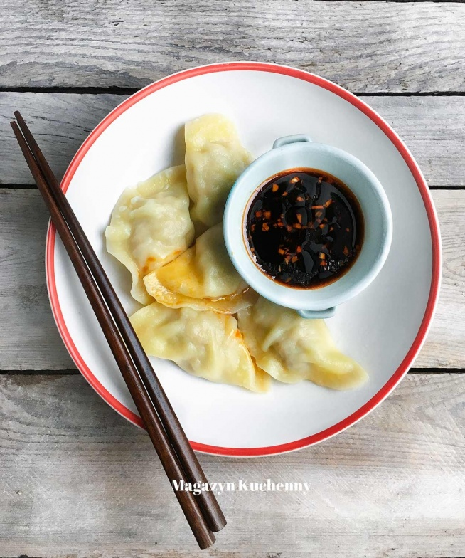 Pierogi z surowym mięsem, jak u Chińczyka. Przepis po kliknięciu w zdjęcie.