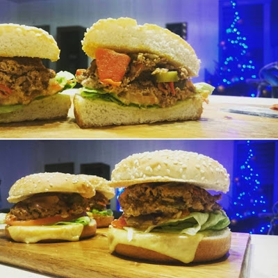 Domowe burgery- , czyli najlepszy fast a raczej slow food to ten we własnym domu :)