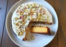 Cytrynowe ciasto z polentą