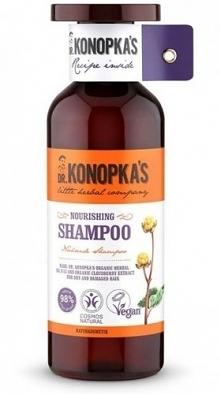 Naturalna certyfikowana linia odżywcza dr. Konopki do pielęgnacji włosów zawi...