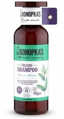 Naturalna certyfikowana linia nadająca objętość dr. Konopki do pielęgnacji wł...