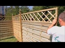 Jak zbudować płot z drewna?
