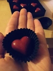 czekoladki serduszka ❤️