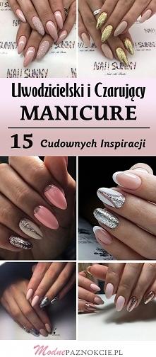 Uwodzicielski i Czarujący Manicure: 18 Cudownych Inspiracji