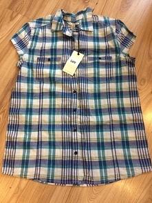 Lee oryginalna koszula marki Lee wciąż ma przy sobie metkę , w niebieką krate rozmiar 38 :)