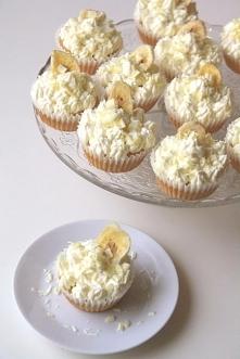 Bananowe cupcakes