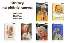 Prezent urodzinowy, pamiątka Ślubu, Komunii lub Chrzcin. To ty decydujesz na jaką okazję wybierzesz nasz obraz na płótnie z papieżem Janem Pawłem II. Dodamy do niego wybraną prz...