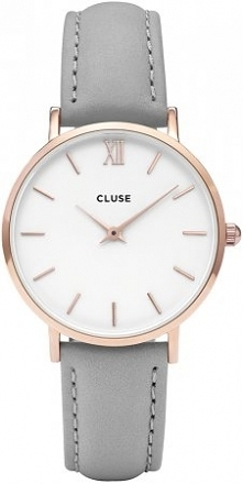 Cluse CL30002 Rose Gold White/Grey