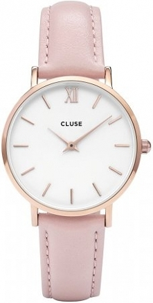 Cluse CL30001 Rose Gold White/Pink