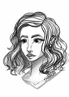 szybki szkic / portret zrobiony w programie procreate wiecej przykładów moich...