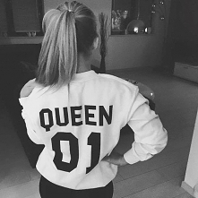 Bluzy dla par Queen i King do kupienia na swagshoponline.pl ♥ Idealny prezent...