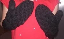 rękawiczki z jednym palcem krok po kroku