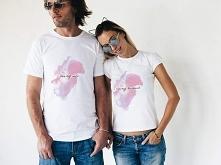 Koszulki dla zakochanych z napisami: i love my wife i i love my husband