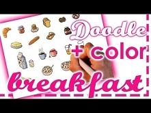 How I doodle FOOD ✎ Breakfast Doodles