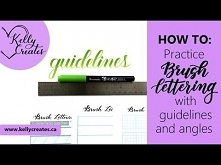 How to Angle Your Letters for Calligraphy - YouTube