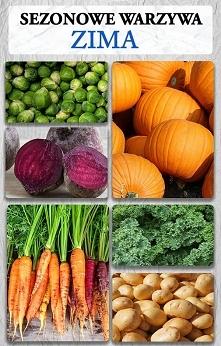 Sezonowe warzywa Zima – co jeść zimą