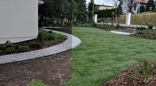 zrób to sam - układanie trawnika z rolki