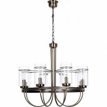 Lampa wisząca Monte 5880811 firmy Britop Lighting to największy model z kolekcji Monte. Żyrandol posiada osiem źródeł światła co z pewnością wystarczy do większego pomieszczenia...