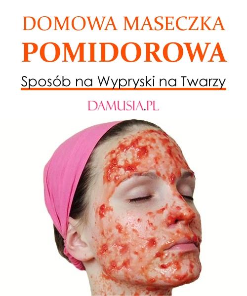 Domowa Maseczka Pomidorowa – Sposób na Wypryski na Twarzy