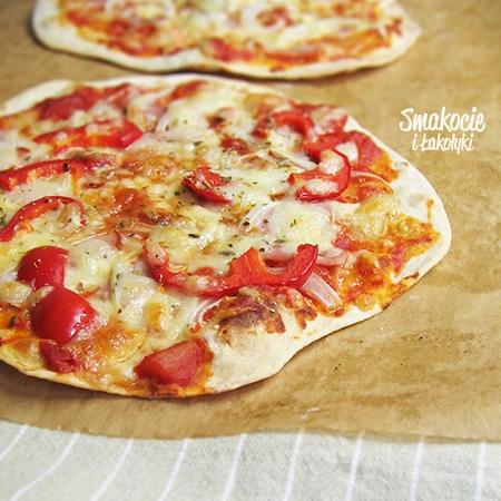 Ekspresowa pizza na cienkim spodzie