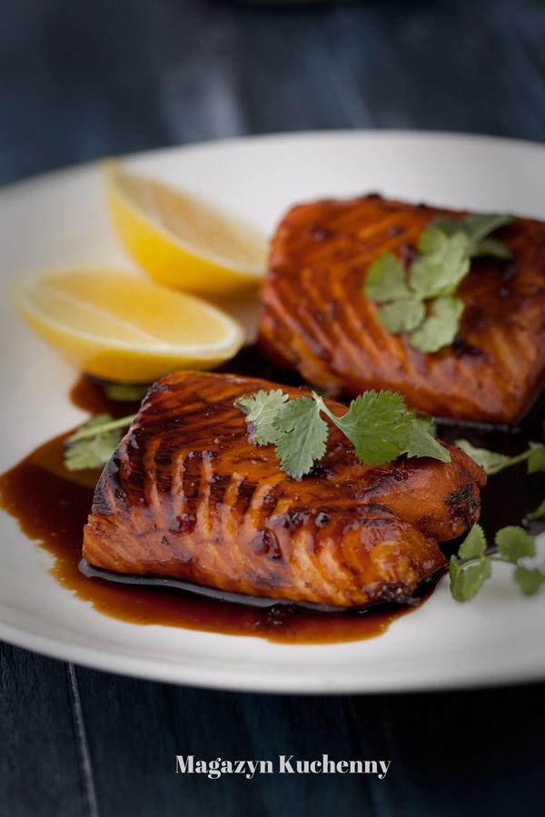 Odrobina pysznej Azji na talerzu. Łatwy i sprawdzony przepis na łososia teriyaki. Przepis po kliknięciu w zdjęcie.
