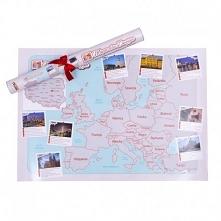 Mapa Zdrapka Dla Dwojga Doskonały Prezent na WALENTYNKI <3 Kliknij w zdjęc...