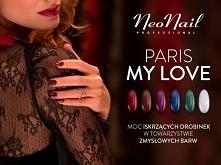 Polubiłyście kolekcję Moulin Rouge? Z pewnością ucieszy Was informacja, że weszła na stałe do oferty jako PARIS - MY LOVE! :)