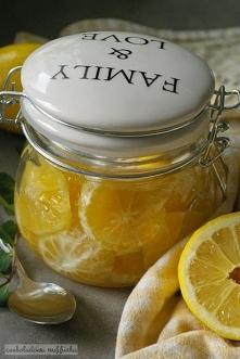 Cytryny w syropie.