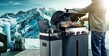 Idealny grill do grillowania również zimą, grill gazowy Quisson Barbecook