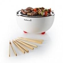 Doskonały grill na stół? - Grill węglowy Joya White Barbecook z zestawem bamb...