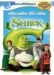 """Shrek""(2001,2004,2007,2010) Animacja, Familijny, Komedia"