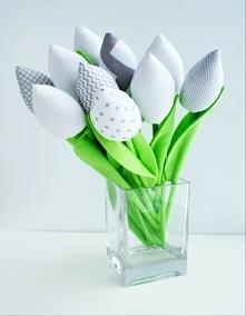 tulipany handmade  kuferek-malucha.art-madam.pl