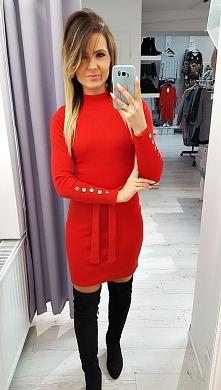 Sukienka slim Red 64,90zł Z...