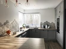 Białe żaluzje drewniane dekorują dom Natalii i Marka. Model to żaluzje 50mm z drabinką sznurkową - zobacz więcej na Nasze Domowe Pielesze