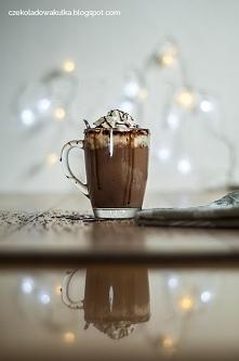 Klasyczna gorąca czekolada. Prawdziwa, gęsta...pyszna! :)