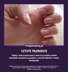 Czyste paznokcie