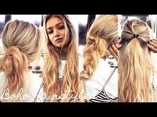 One Minute Boho Hairstyles ...