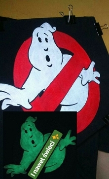 Ghostbusters (ręcznie malow...