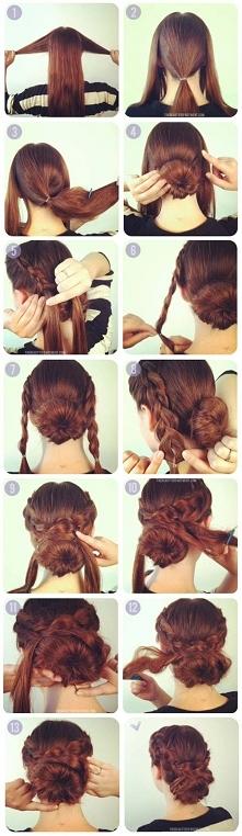 Pomysł na długie włosy xx