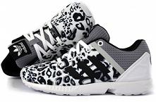 """TYLKO 199,99 --> Buty Damskie Adidas ZX Flux SPLIT """"White Panter"""""""