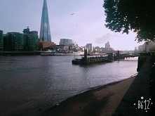 Londyn widok z mostu