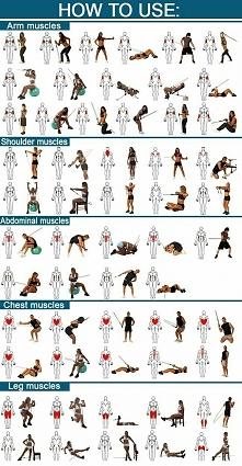 Ćwiczenia z gumą