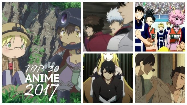 Ranking z najlepszymi serialami anime z 2017 roku. Pierwsze miejsce w rankingu zajęło anime Made in Abyss, kolejne opisy znajdziesz u źródła, na Animeholik.pl