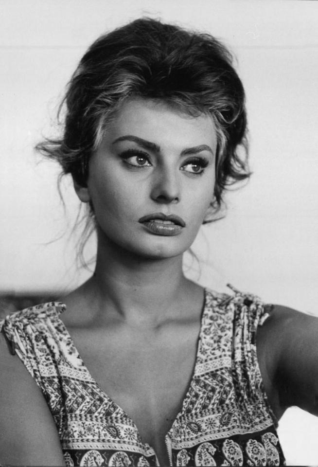 Piękna Sophia Loren Na Fotografie Zszywkapl