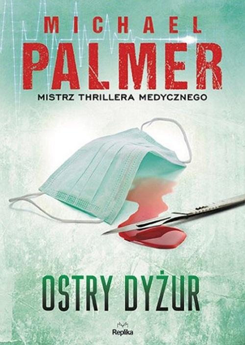"""Przed nami kolejna fantastyczna książka mistrza thrillera medycznego Michaela Palmera """"Ostry dyżur"""". Książka trzyma w napięciu praktycznie od pierwszej do ostatniej strony. Główną bohaterką """"Ostrego dyżuru"""" jest doktor Abby Dolan. Zrezygnowawszy z pracy w prestiżowym szpitalu, rozpoczyna kolejny etap swojej kariery w miejscowej izbie przyjęć. Na kolejnych stronach książki śledzimy poczynania Abby oraz Lwa w dążeniu do odkrycia prawdy, oraz zdemaskowania Colstara - wielkiego koncernu farmaceutycznego."""