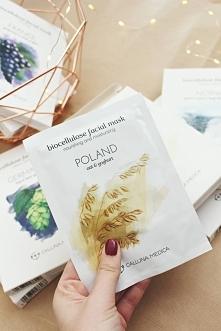 Polska maseczka z owsa i jogurtu. Genialna. Zapraszam na bloga