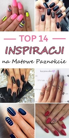 TOP 14 inspiracji na matowe pazurki