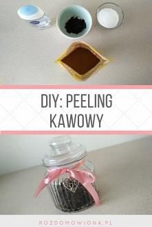 DIY peeling kawowy / przepis po kliknięciu w zdjęcie