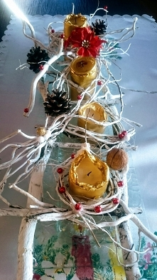 Jeszcze pomysły świąteczne.