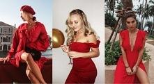 Dodatki do czerwonej sukien...